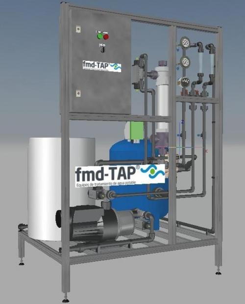 Planta Compacta de Tratamiento de Agua Potable en Explotación Agrícola